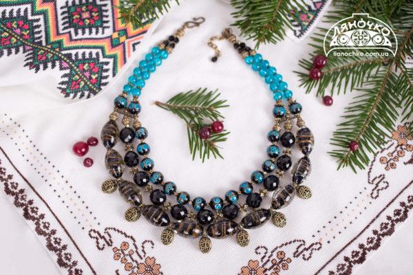 купити намисто різдвяна ніч фото