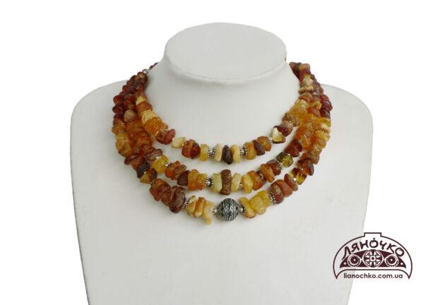 купить янтарное ожерелье киев