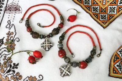 купити намисто з єрусалимським хрестом київ, львів, україна