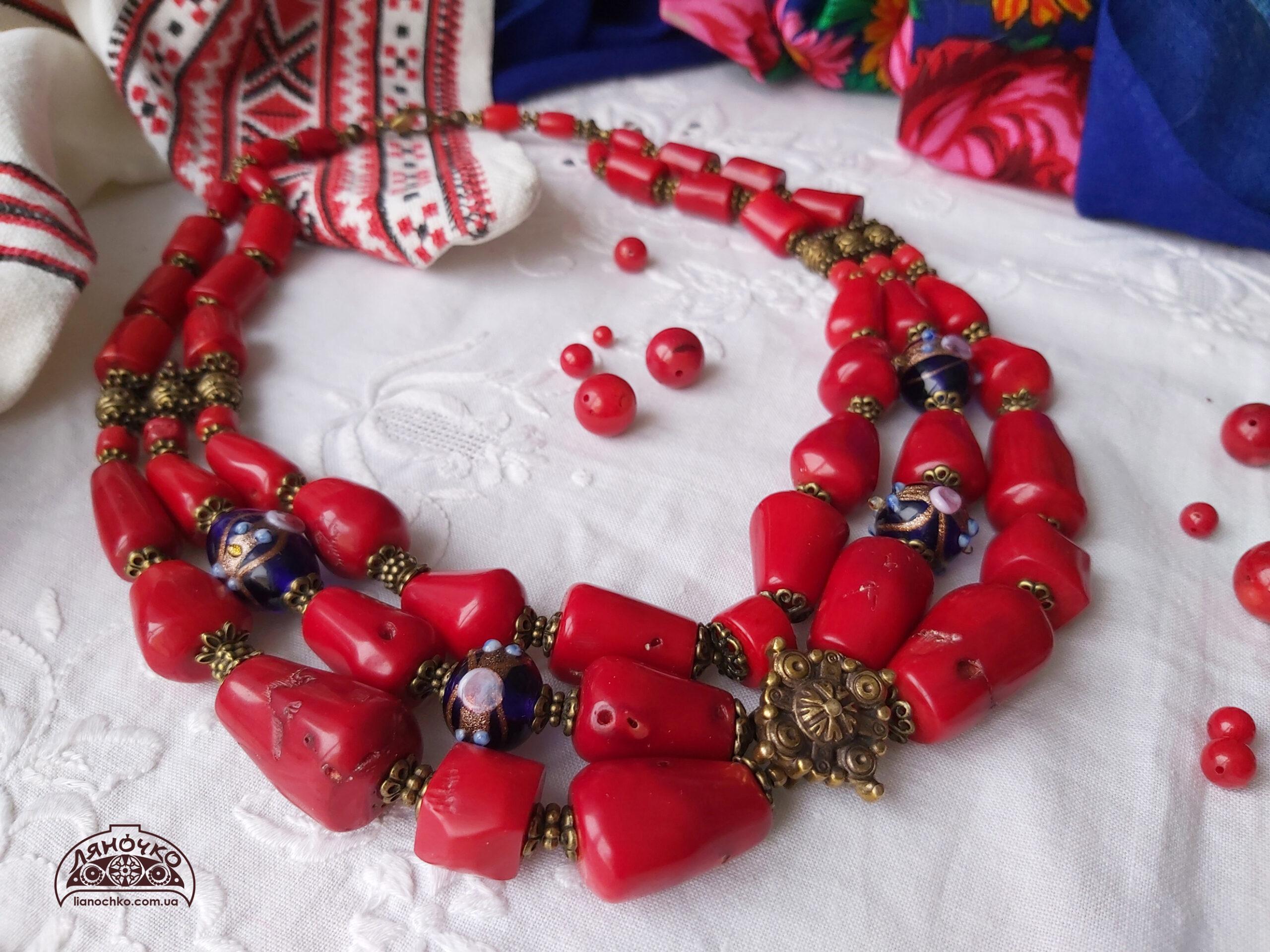 червоні коралі кульки княгині