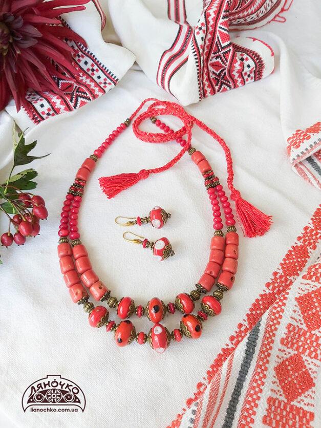 Червоненька квіточка фото. Купити в Україні